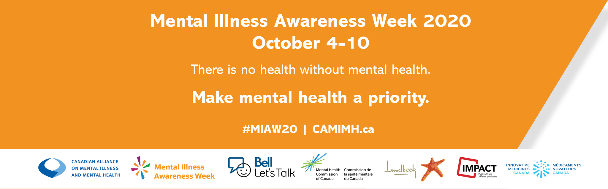 #MIAW20: There is no health without mental health