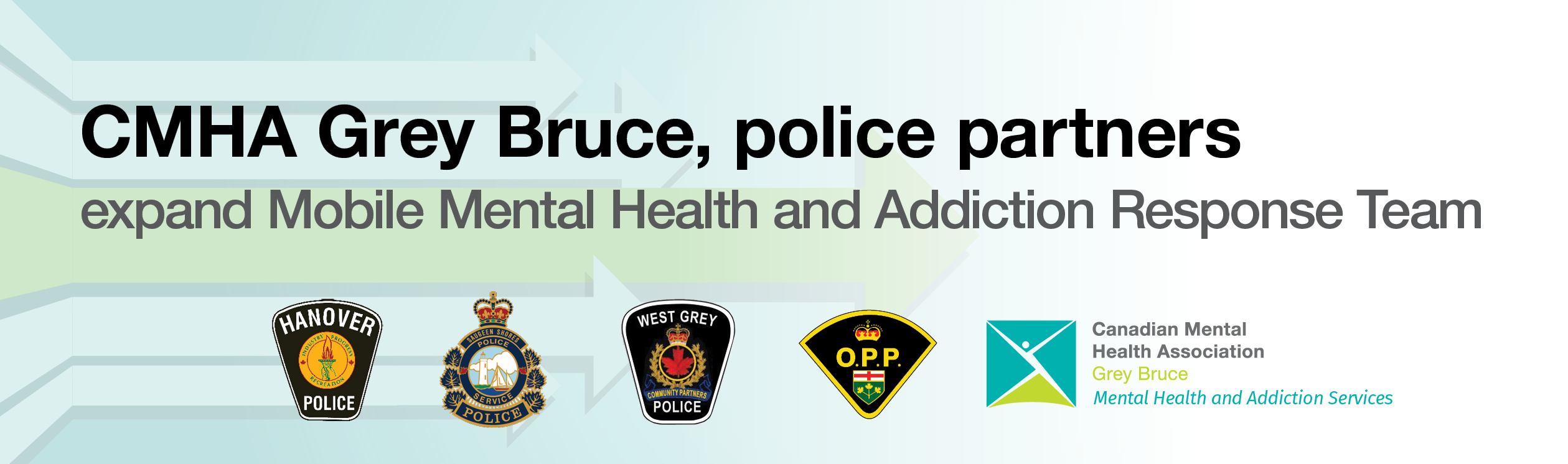 CMHA Grey Bruce, police partners expand mobile crisis response program to serve more communities in Grey and Bruce