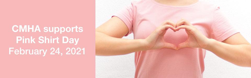 Pink Shirt Day 2021 banner